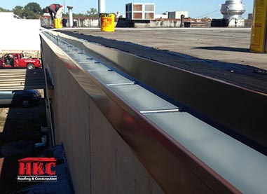 Commercial Gutters Hkc Roofing