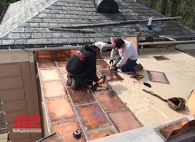 copper roof expert cincinnati