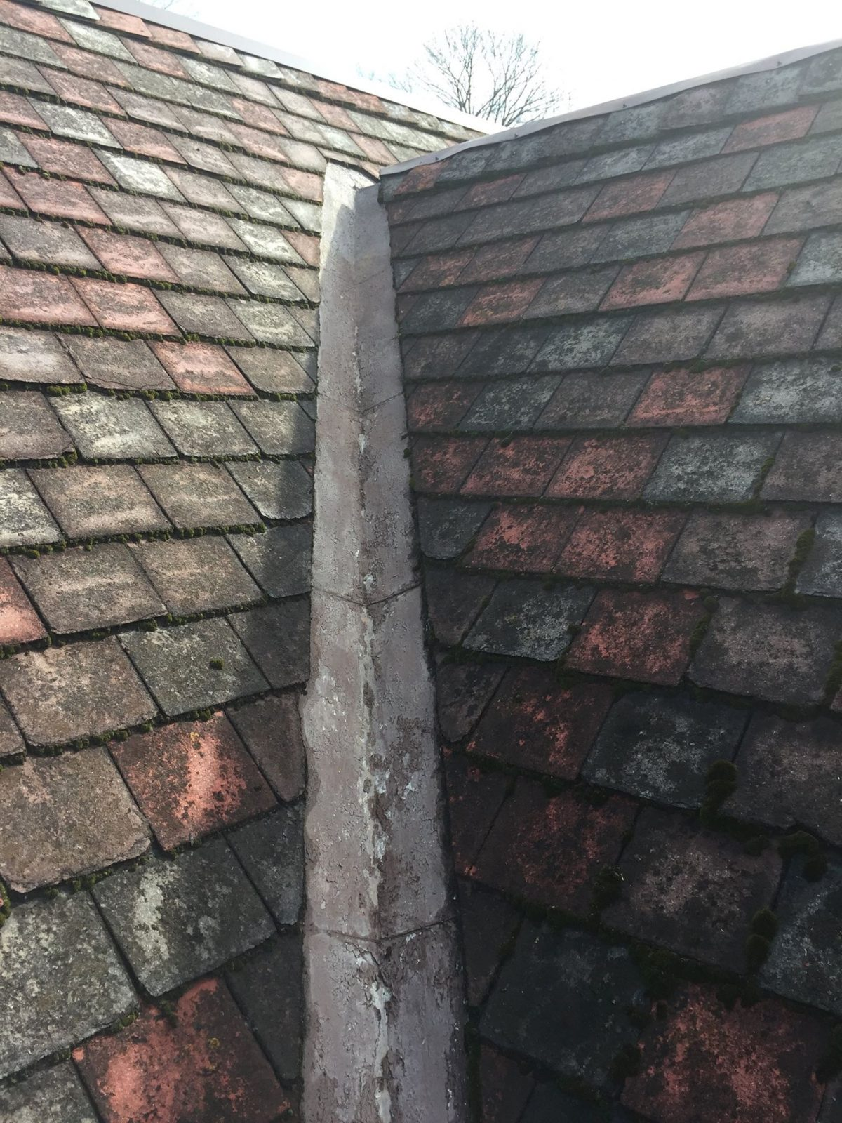 70 Year Old Asbestos Tile Roof Hkc