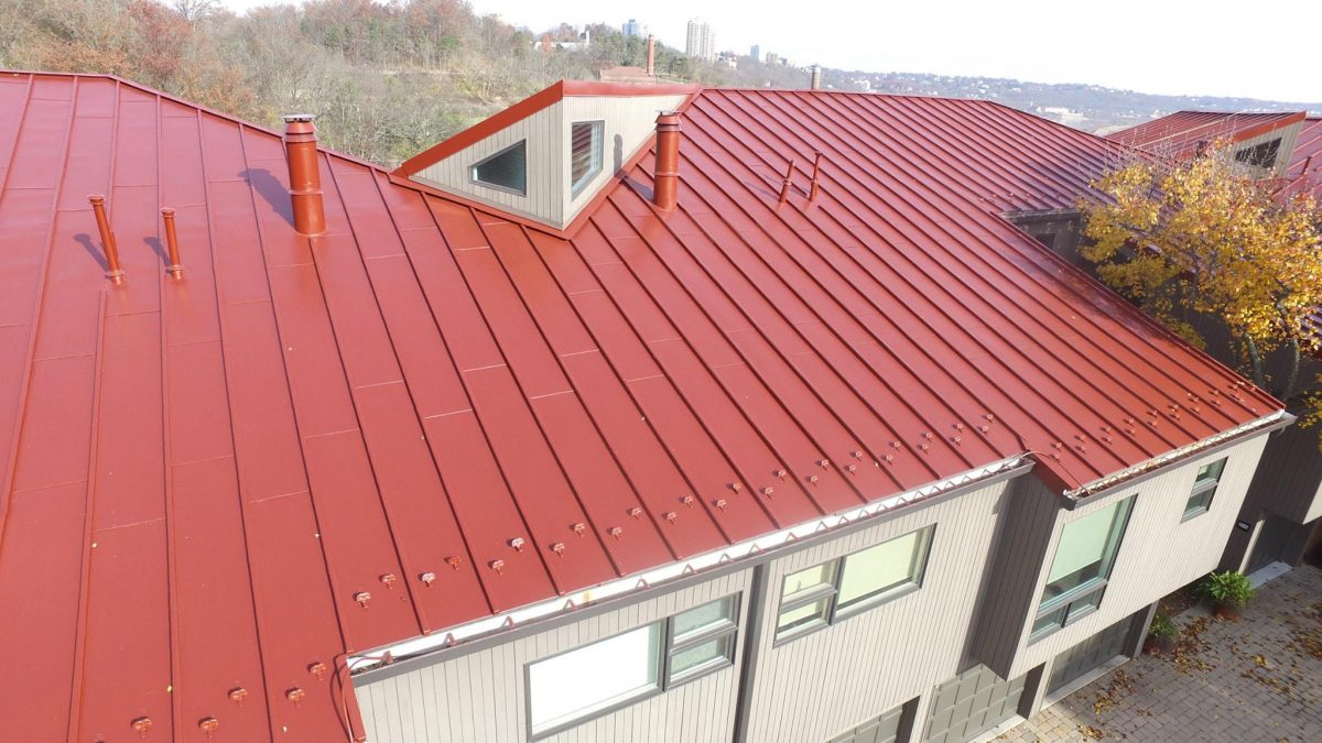 Hkc Roofing Cloisters Community Standing Seam Metal Roof