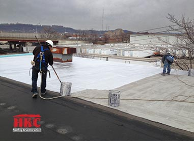 cincinnati_commercial roofing asphalt built up