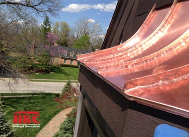 cincinnati copper roofing