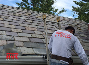 hkc roofing slate roof repair experts