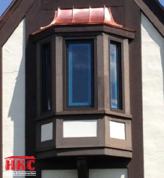 Curved Copper Bay Window Case Study Hkc