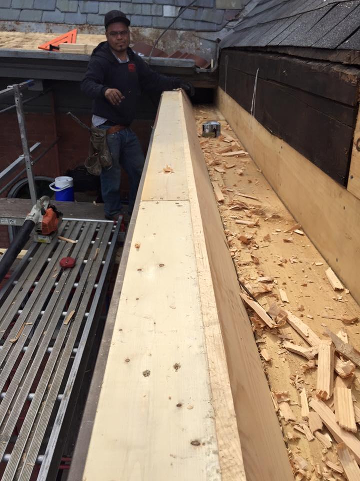 Church Box Gutter And Cornice Restoration Hkc