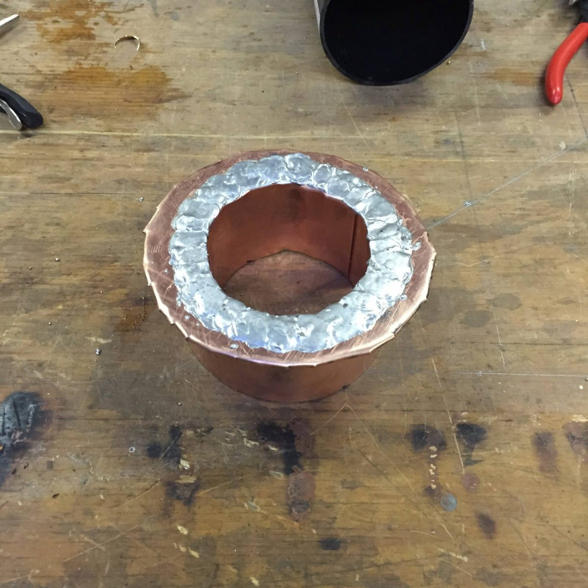 Copper Sewer Vent Flashing Hkc