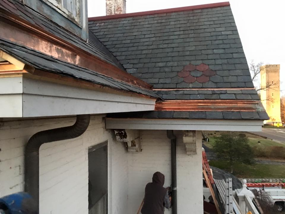 Restoring Slate Roof And Yankee Gutters Hkc